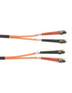 Black Box FO625-LSZH-005M-STST valokuitukaapeli 5 m OM1 ST Oranssi Black Box FO625-LSZH-005M-STST - 1
