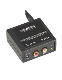 Black Box IC081A äänimuunnin Musta Black Box IC081A - 1