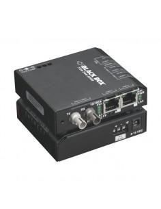 Black Box LBH100A-H-ST verkon mediamuunnin 100 Mbit/s Monitila Musta Black Box LBH100A-H-ST - 1