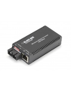 Black Box LGC012A-R2 verkon mediamuunnin 1000 Mbit/s 1310 nm Yksittäistila Musta Black Box LGC012A-R2 - 1