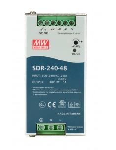 Black Box SDR-240-48 virtalähdeyksikkö 240 W Monivärinen Black Box SDR-240-48 - 1