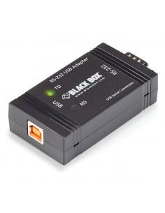 Black Box SP385A-R2 USB Type B DB9 Musta kaapeli liitäntä / adapteri Black Box SP385A-R2 - 1