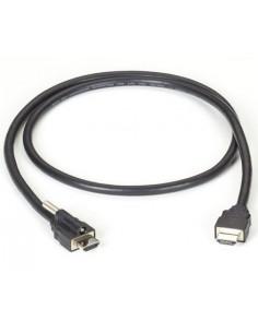 Black Box VCL-HDMIS-002M HDMI-kaapeli 2 m HDMI-tyyppi A (vakio) Musta Black Box VCL-HDMIS-002M - 1