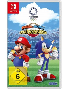 Nintendo Switch Mario & Sonic Olympische Spiele Tokyo 2020 Perus Saksa Nintendo 10002024 - 1