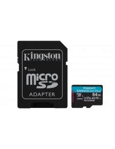 Kingston Technology Canvas Go! Plus flash-muisti 64 GB MicroSD UHS-I Luokka 10 Kingston SDCG3/64GB - 1