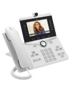 Cisco IP Phone 8865 IP-telefoner Vit Trådbunden telefonlur Wi-Fi Cisco CP-8865-W-K9= - 1