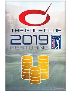 Microsoft The Golf Club 2019 feat. PGA TOUR 14300 Currency Microsoft KZP-00013 - 1