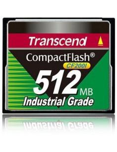 Transcend TS512MCF200I flash-muisti 0.5 GB CompactFlash Transcend TS512MCF200I - 1
