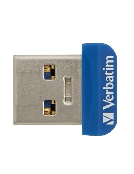 Verbatim Store 'n' Stay Nano USB-muisti 64 GB USB A-tyyppi 3.2 Gen 1 (3.1 1) Sininen Verbatim 98711 - 4
