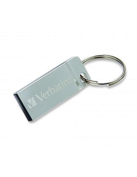 Verbatim Metal Executive USB-muisti 16 GB USB A-tyyppi 2.0 Hopea Verbatim 98748 - 3