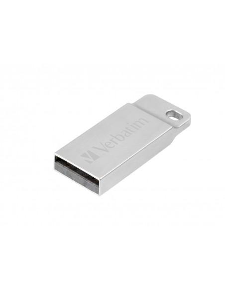 Verbatim Metal Executive USB-muisti 64 GB USB A-tyyppi 2.0 Hopea Verbatim 98750 - 1