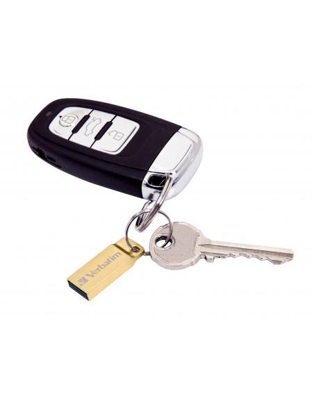 Verbatim Metal Executive USB-muisti 64 GB USB A-tyyppi 3.2 Gen 1 (3.1 1) Kulta Verbatim 99106 - 3