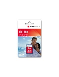 AgfaPhoto SD Memory cards flash-muisti 2 GB Agfaphoto 10403 - 1