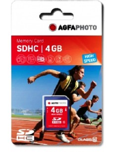 AgfaPhoto 4GB SDHC flash-muisti Luokka 10 MLC Agfaphoto 10424 - 1