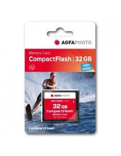 AgfaPhoto USB & SD Cards Compact Flash 32GB SPERRFRIST 01.01.2010 flash-muisti CompactFlash Agfaphoto 10435 - 1