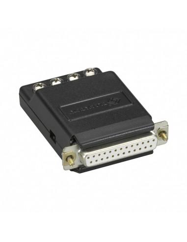 Black Box CL412A-F sarjamuunnin/-toistin/-eristin RS-232 Virtasilmukka Musta Black Box CL412A-F - 1