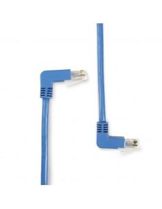 Black Box Cat6, UTP, 1ft verkkokaapeli 0.3 m U/UTP (UTP) Sininen Black Box EVNSL216-0001-90DU - 1