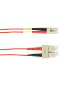 Black Box FOLZHM4-025M-SCLC-RD valokuitukaapeli 25 m LSZH OM4 SC LC Punainen Black Box FOLZHM4-025M-SCLC-RD - 1