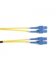 Black Box FOSM-LSZH-003M-SCSC valokuitukaapeli 3 m OS2 SC Keltainen Black Box FOSM-LSZH-003M-SCSC - 1