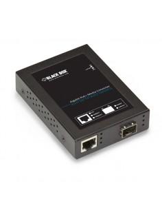 Black Box LPS535A-SFP verkon mediamuunnin 1000 Mbit/s Monitila, Yksittäistila Musta Black Box LPS535A-SFP - 1