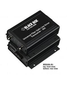 Black Box MD650A-13 verkkolaajennin Verkkolähetin ja -vastaanotin Musta Black Box MD650A-13 - 1