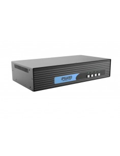 Smart-AVI SDVN-4D KVM-kytkin Musta Black Box SS4P-DH-DVI-U - 1