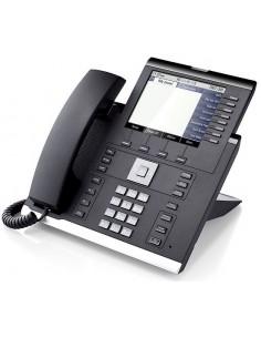 Unify OpenScape OpenScapeDP IP 55G IP-puhelin Musta, Hopea Johdollinen puhelin LCD Unify L30250-F600-C281 - 1