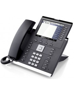 Unify OpenScape IP 55G IP-puhelin Musta Johdollinen puhelin 8 linjat Unify L30250-F600-C296 - 1