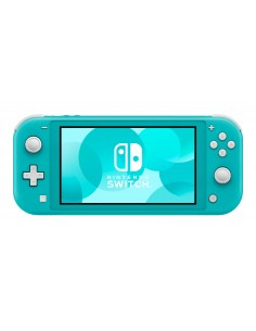"Nintendo Switch Lite kannettava pelikonsoli Turkoosi 14 cm (5.5"") Kosketusnäyttö 32 GB Wi-Fi Nintendo 10002292 - 1"