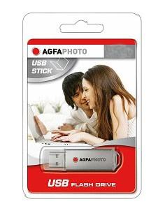 AgfaPhoto 8GB Drive USB-muisti USB A-tyyppi 2.0 Harmaa Agfaphoto 10512 - 1