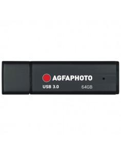 AgfaPhoto 10571 USB-muisti 64 GB USB A-tyyppi 3.2 Gen 1 (3.1 1) Musta Agfaphoto 10571 - 1