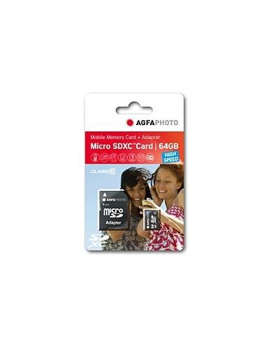 AgfaPhoto 64GB MicroSDXC flash-muisti Luokka 10 Agfaphoto 10582 - 1
