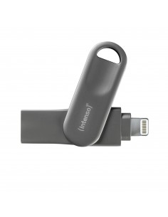 Intenso iMobile Line Pro USB-muisti 64 GB USB Type-A / Lightning 3.2 Gen 1 (3.1 1) Antrasiitti Intenso 3535590 - 1