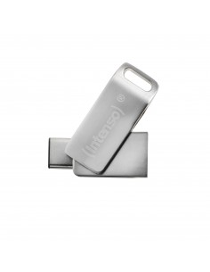 Intenso cMobile Line USB-muisti 32 GB USB Type-A / Type-C 3.2 Gen 1 (3.1 1) Hopea Intenso 3536480 - 1