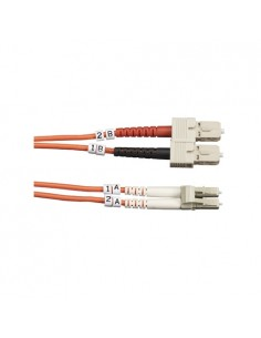 Black Box FO50-LSZH-001M-SCLC valokuitukaapeli 1 m OM2 SC LC Oranssi Black Box FO50-LSZH-001M-SCLC - 1