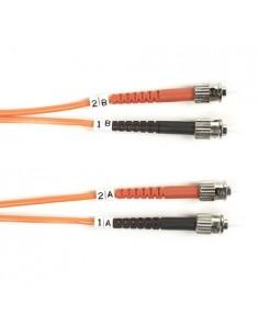 Black Box FO50-LSZH-001M-STST valokuitukaapeli 1 m OM2 ST Oranssi Black Box FO50-LSZH-001M-STST - 1