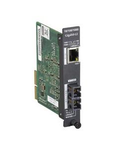 Black Box LGC5950C-R2 verkon mediamuunnin 1000 Mbit/s 850 nm Monitila Musta Black Box LGC5950C-R2 - 1