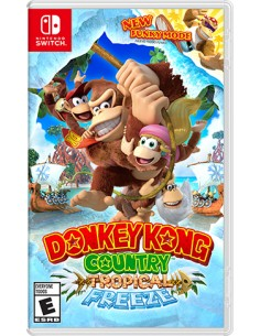 Nintendo Donkey Kong Country Tropical Freeze videopeli Switch Perus Nintendo 2522940 - 1