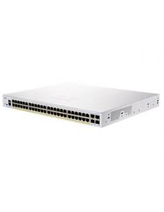 Cisco CBS250-48P-4G-EU nätverksswitchar hanterad L2/L3 Gigabit Ethernet (10/100/1000) Silver Cisco CBS250-48P-4G-EU - 1