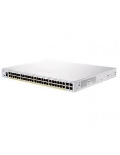 Cisco CBS250-48PP-4G-EU nätverksswitchar hanterad L2/L3 Gigabit Ethernet (10/100/1000) Silver Cisco CBS250-48PP-4G-EU - 1