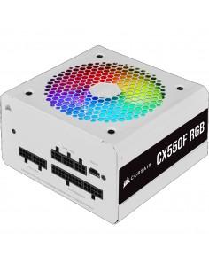 Corsair CX550F virtalähdeyksikkö 550 W 24-pin ATX Valkoinen Corsair CP-9020225-EU - 1