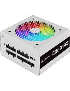 Corsair CX650F virtalähdeyksikkö 650 W 24-pin ATX Valkoinen Corsair CP-9020226-EU - 1