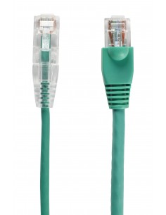 Black Box CAT6 4.5m verkkokaapeli 4.5 m U/UTP (UTP) Vihreä Black Box C6PC28-GN-15 - 1