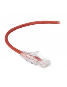 Black Box CAT6 3m verkkokaapeli U/UTP (UTP) Punainen Black Box C6PC28-RD-10 - 1