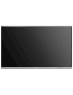 """Optoma 5651RK Interaktiivinen litteä paneeli 165.1 cm (65"""") LED 4K Ultra HD Musta Kosketusnäyttö Sisäänrakennettu prosessori Opt"""