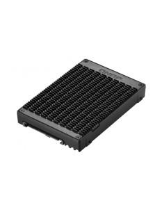 QNAP QDA-U2MP tallennusaseman kotelo SSD-kotelo Musta M.2 Qnap QDA-U2MP - 1
