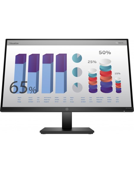 """HP P24q G4 60.5 cm (23.8"""") 2560 x 1440 pikseliä Quad HD LED Musta Hp 8MB10AA#ABB - 1"""