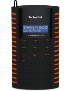 TechniSat Solar Bärbar Analog och digital Svart, Orange Technisat 0001/3931 - 1