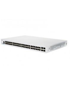 Cisco CBS350-48T-4G-EU network switch Managed L2/L3 Gigabit Ethernet (10/100/1000) Silver Cisco CBS350-48T-4G-EU - 1