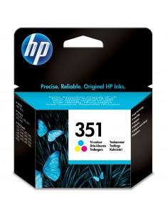HP 351 Tri-color Inkjet Print Cartridge 1 pc(s) Original Cyan, Magenta, Yellow Hp CB337EE#301 - 1